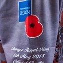Army Rugby Union - Maillot de Rugby Commémoration WWI Enfants