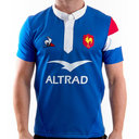 France 2018/19 - Maillot de Rugby Test Authentique Domicile