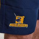 Highlanders 2019 - Shorts de Super Rugby Tissé Domicile