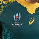 Maillot de Rugby, Australia Wallabies, Coupe du monde RWC 2019 extérieur
