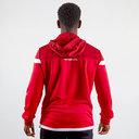Sweatshirt de voyage pour Rugby rouge avec capuche, Scarlets 2019/2020