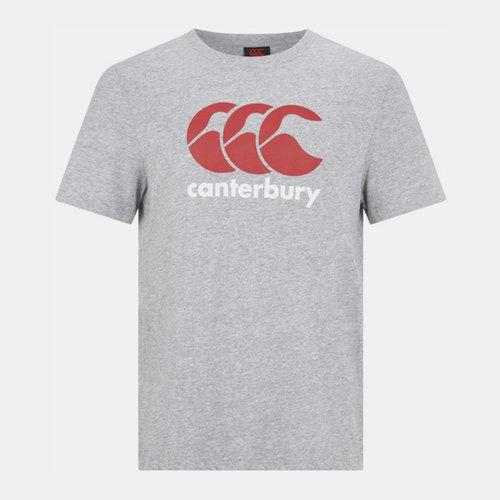 Tshirt de Rugby à Logo CCC Gris/Rouge/Blanc