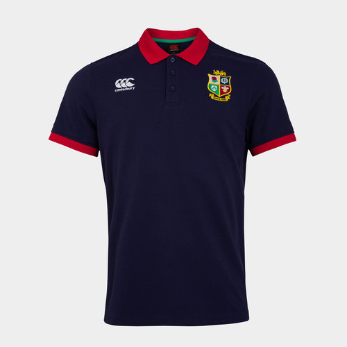 British and Irish Lions Nations Polo Shirt Mens