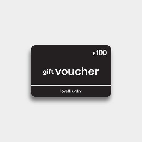 Lovell Rugby £100 - Cheque Cadeau Virtuel