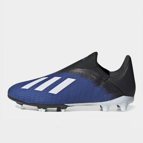 adidas X 19.3 Crampons de Football pour enfants sans lacets