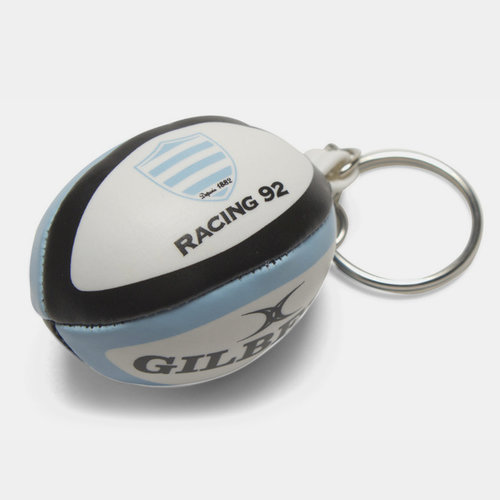 Racing 92 - Porte Clefs Mini Ballon de Rugby
