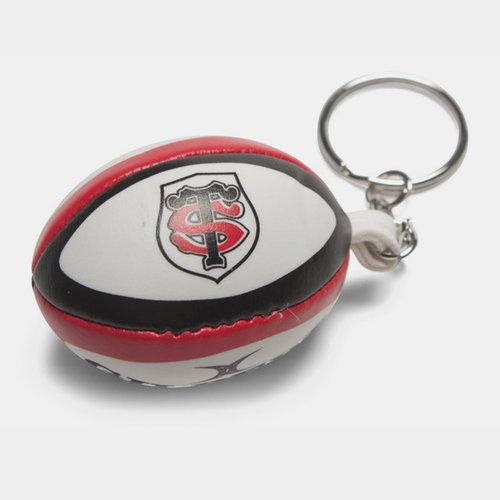 Toulouse - Porte Clefs Mini Ballon de Rugby