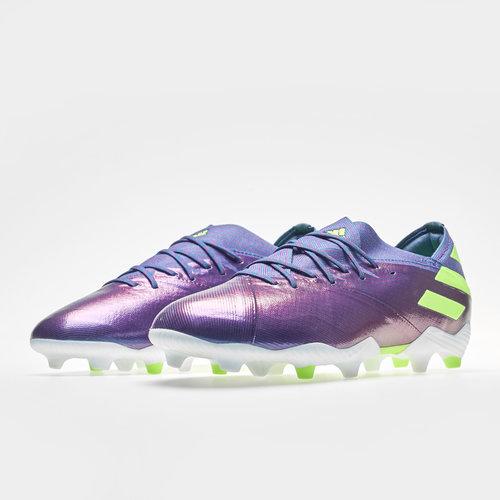adidas Nemeziz Messi 19.1 FG, Crampons de Football pour