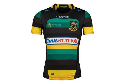 Northampton Saints 2017/18 - Maillot de Rugby Test Domicile