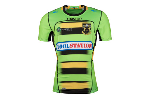 Northampton Saints 2017/18 - Maillot de Rugby Test Alterné
