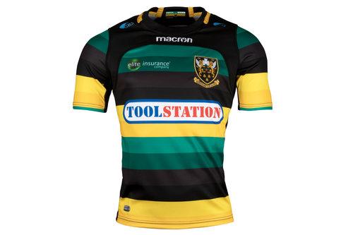 Northampton Saints 2017/18 - Maillot de Rugby Réplique Domicile Enfants