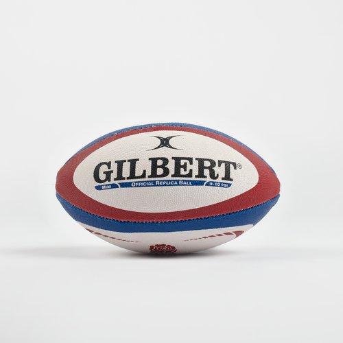 Gilbert Angleterre - Mini Ballon Rugby Réplique Oficielle