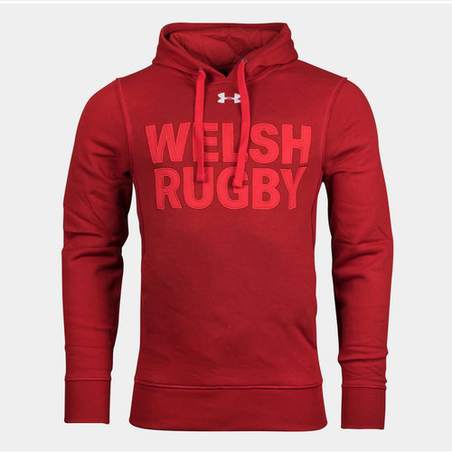 Pays De Galles WRU 2017/19 - Pull à Capuche de Rugby Graphique