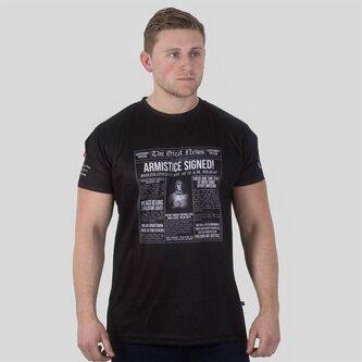 Armée Britannique WWI - Tshirt de Rugby Titres Commémoratifs