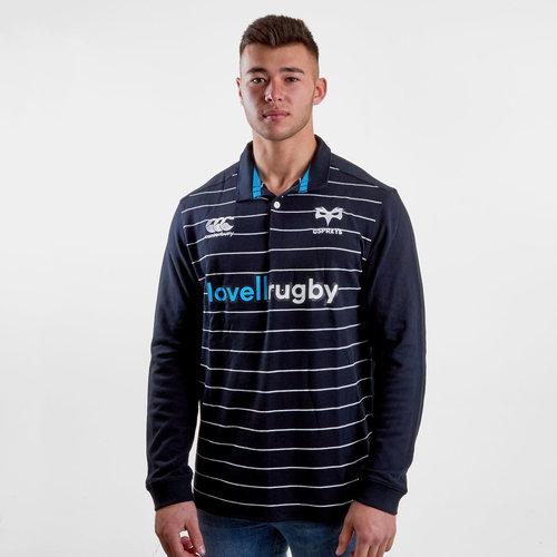 Ospreys 2018/19 - Maillot de Rugby Classique M/L Domicile