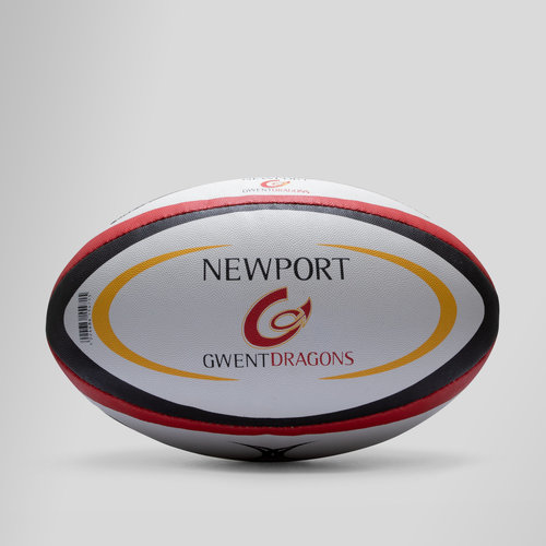 Newport Gwent Dragons - Ballon de Rugby Réplique Officiel