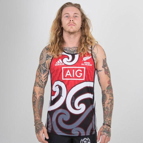 729677f466c4 Nlle Zélande Maori All Blacks 2018 19 - Débardeur de Rugby Entraînement