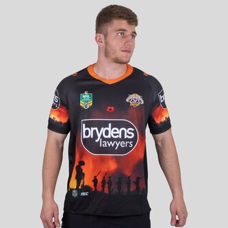 Wests Tigers NRL 2018 - Maillot de Rugby Anzac
