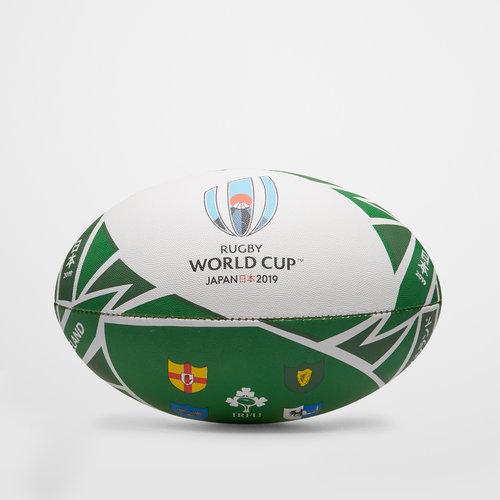 Irlande RWC 2019 - Ballon de Rugby Réplique Officiel