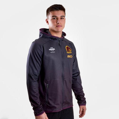 Brisbane Broncos NRL 2019 - Pull de Rugby à Capuche Joueurs