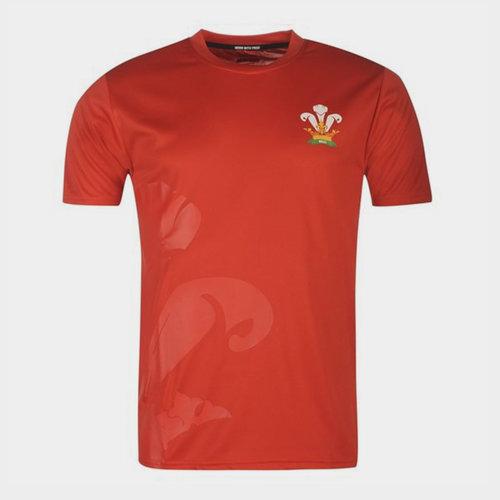 Pays de Galles - Tshirt de Rugby Poly