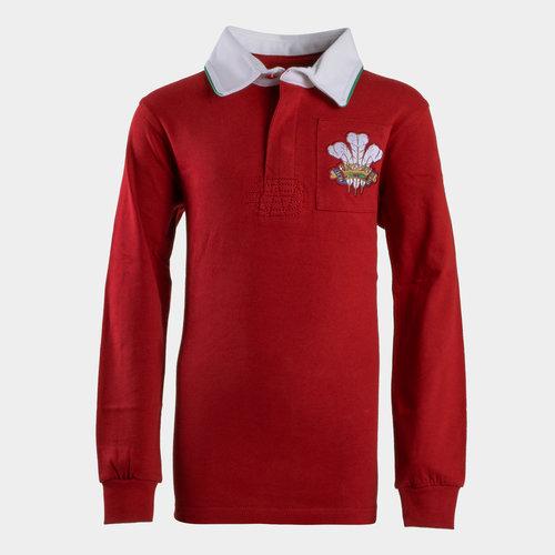 Polo de Rugby vintage pour enfants, Pays de Galles 2019/2020