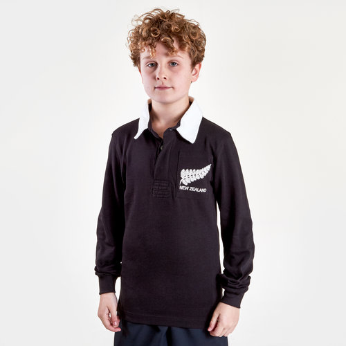 Polo de Rugby vintage pour enfants, Nouvelle Zélande 2019/2020