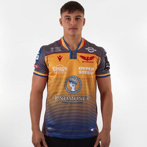 Scarlets 2019/2020, Maillot de Rugby Réplique extérieur