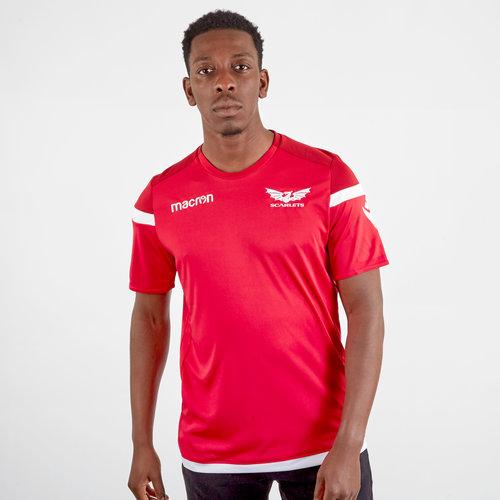 Maillot d'entraînement joueurs, Scarlets 2019/2020