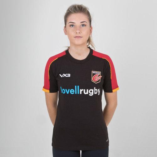 Dragons 2018/19 - Tshirt de Rugby Pro Femmes