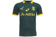Springboks Afrique du Sud 2014/15 - Maillot de Rugby Pro à Domicile MC Vert Bouteille