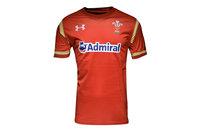 Under Armour Pays de Galles WRU 2016/17 - Maillot de Rugby Réplique à Domicile