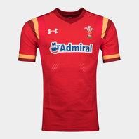 Under Armour Pays de Galles WRU 2016/17 - Maillot de Rugby Test à Domicile des Joueurs